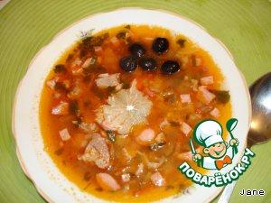 Как приготовить Соляночка мясная вкусный рецепт приготовления с фотографиями пошагово #14