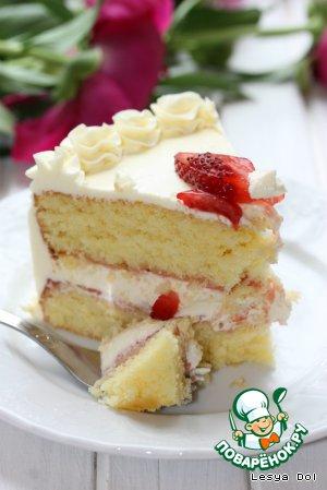 Белый торт рецепт пошагово