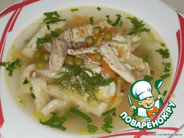 мне суп деликатесный с омлетом район