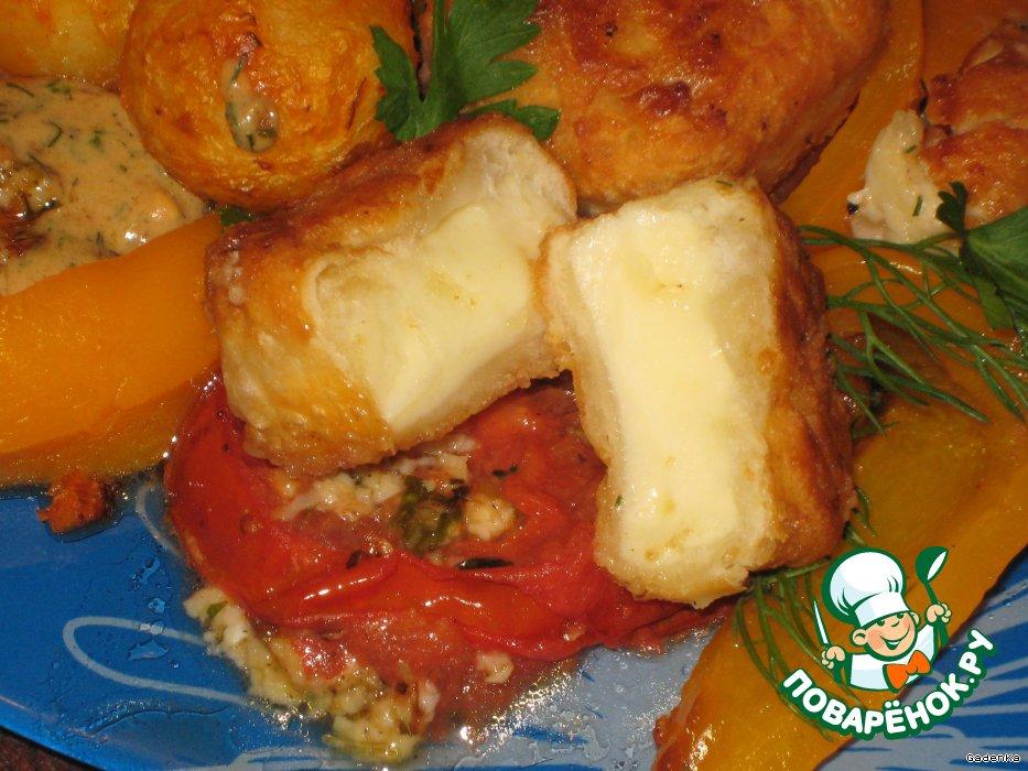 как приготовить овощи под сливочным соусом