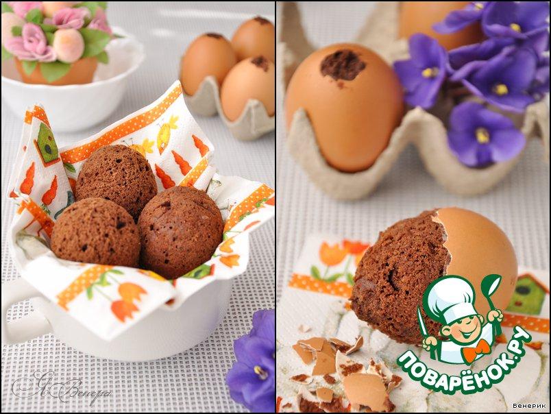 Кекс на яйцах рецепт с фото