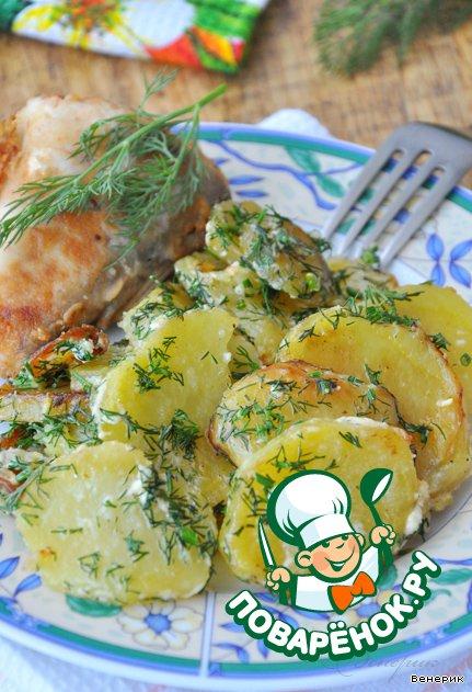 Картошка вмикроволновой печи рецепт