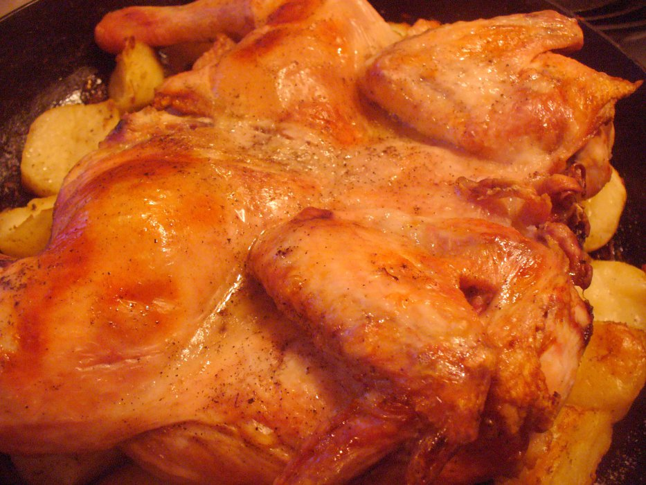 праздничная курица рецепты с фото