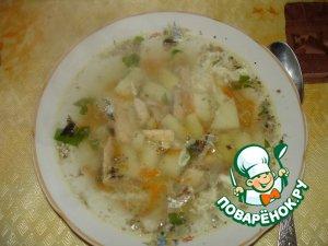 Как приготовить вкусный рецепт с фото Суп из консервов #12
