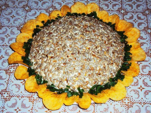 Салат с семечками подсолнуха рецепт