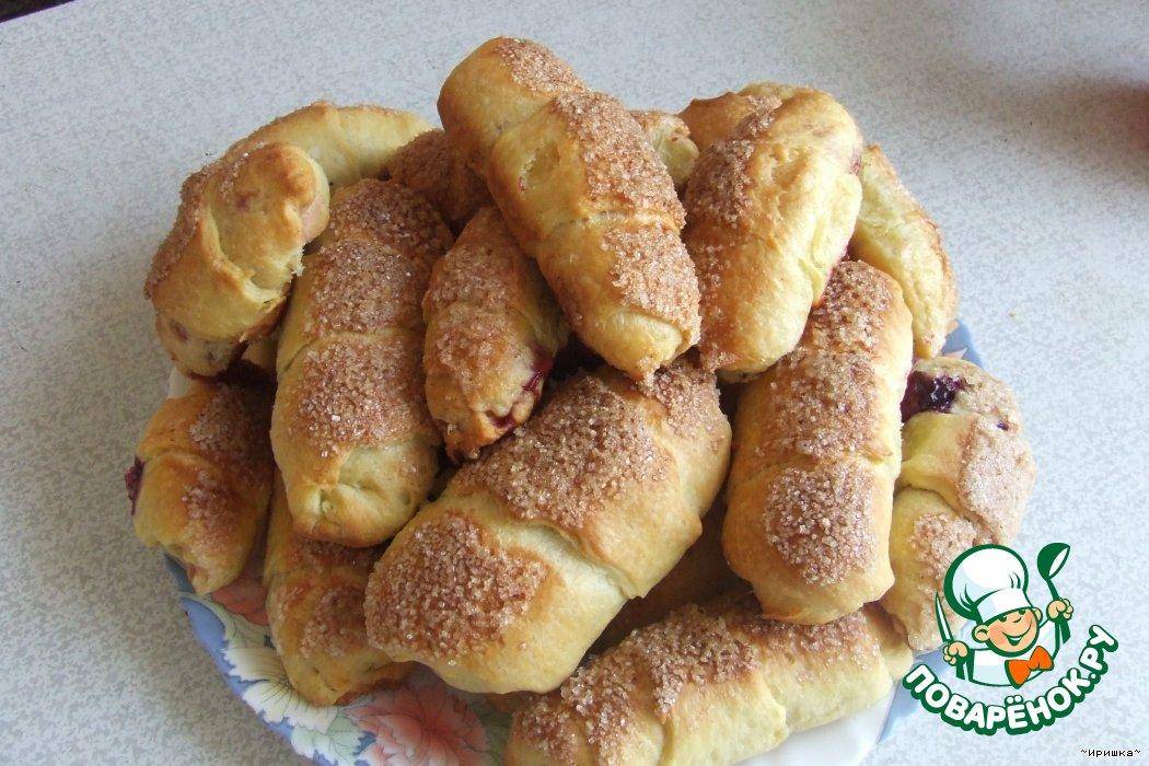 Рогалики сладкие рецепт