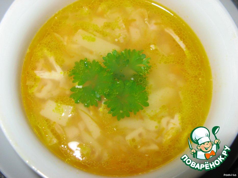 рецепт супа из курицы быстро