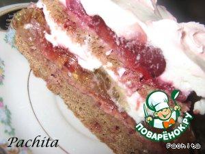 """Конфетно-желейный торт """"Танюшка"""" - кулинарный рецепт"""