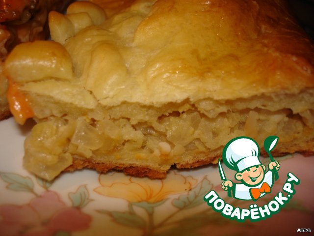 Пирог на дрожжевом тесте в мультиварке рецепты с фото