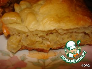 Пирог с мясом на дрожжевом тесте простой рецепт приготовления с фото готовим #18
