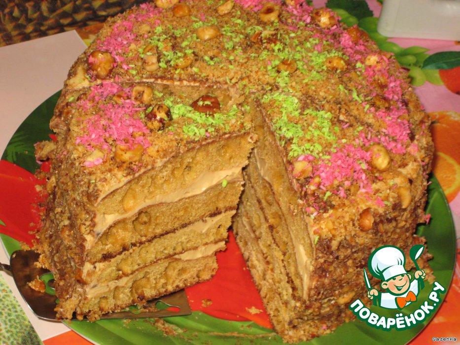 Торт с ряженкой рецепт с пошагово