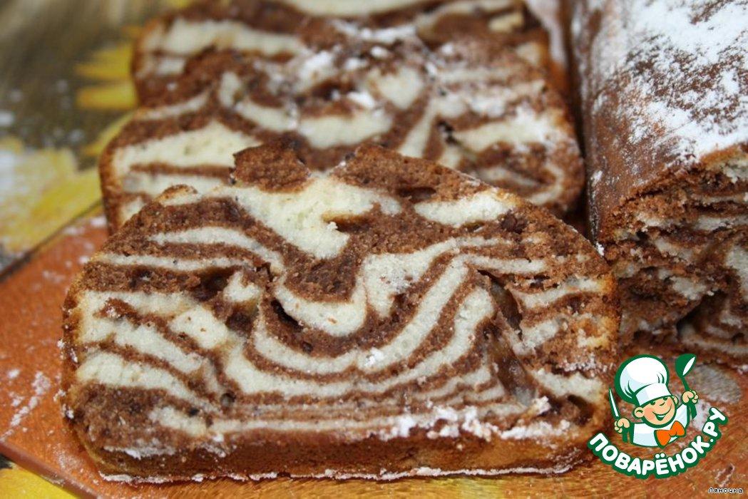 Мраморные кексики рецепты с фото