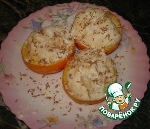 """Как готовить рецепт приготовления с фото Суфле """"Апельсины в снегу"""" #11"""
