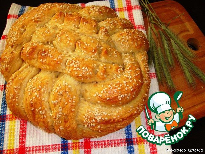 как приготовить хлеб плетенку