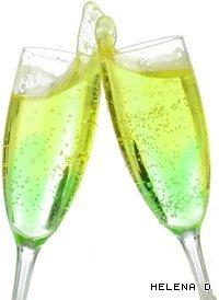 150 мл шампанского.  В бокал плесните абсент, сверху влейте шампанское.