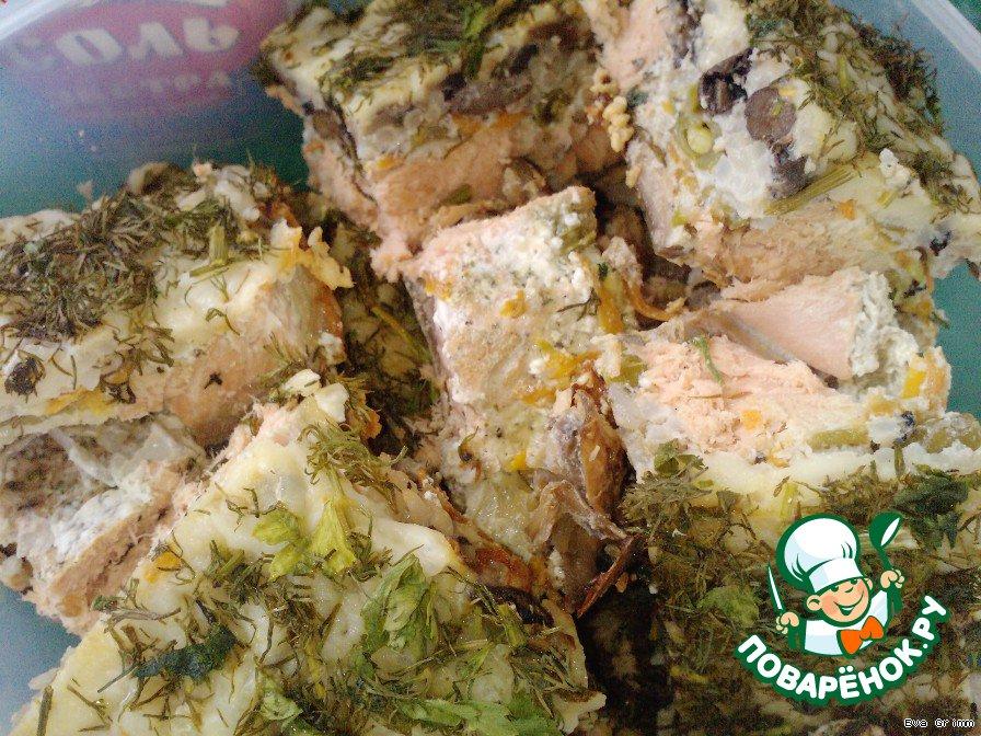 пирог с луком и сыром в духовке рецепт