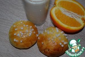 Рецепт Булочки на апельсиновом соке