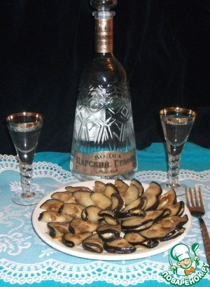 Nice and warm in and cold out! A great appetizer with vodka!