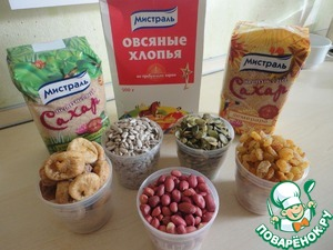 Prepare the ingredients.  Immediately say, cups I have 200 ml!  Went to cook! It is very easy and fast!