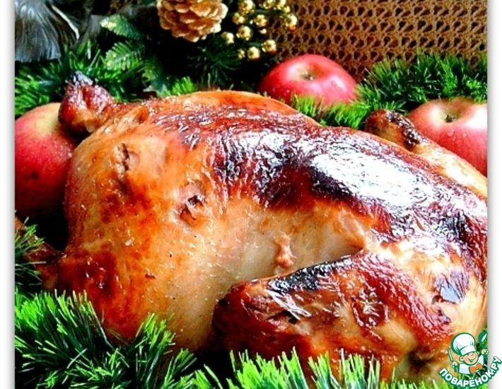 Рецепт: Курица Бомбей