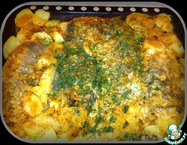Рецепт: Караси в сметанном соусе