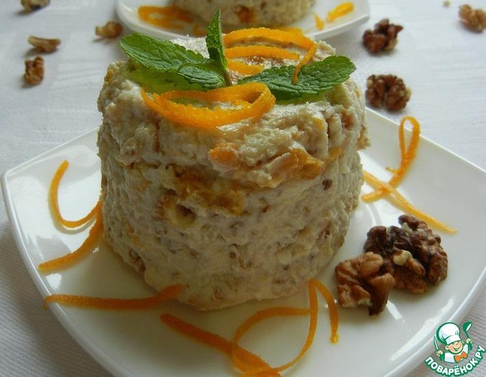 Рецепт: Творожный десерт Нежность