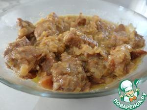 Рецепт Свинина в сливочном соусе с карри
