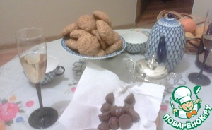 My cookies went with me to visit and was privileged to rise over the tea table. A pleasant tea to you!