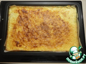 Bake in a hot oven at 180*C for 45 minutes, until Golden brown. Be guided by your oven.