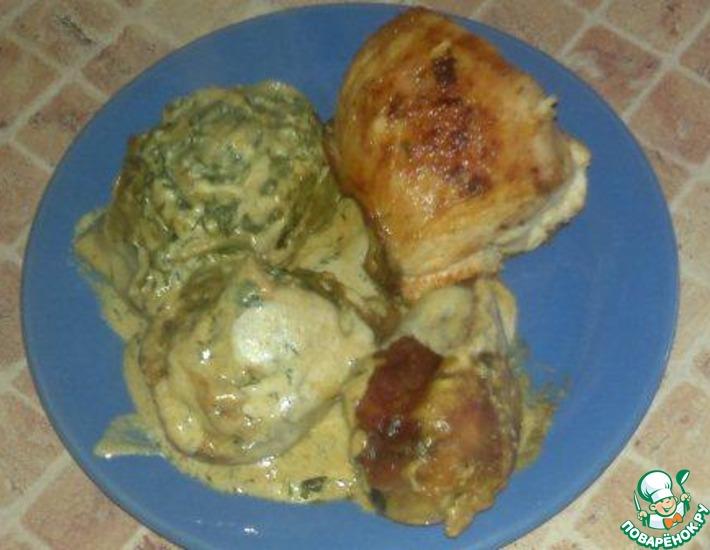 Рецепт: Курица в тесте