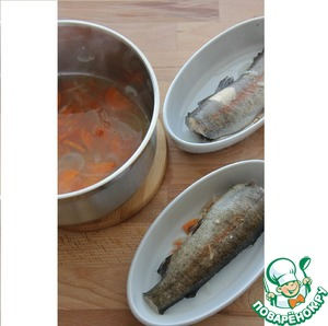 Trout take it out, leave in a warm place or cover with foil.