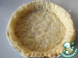Вынимаем тесто из духовки и ставим на подоконничек, чтобы остыло побыстрее. Если надо, подровняйте край острым ножом.