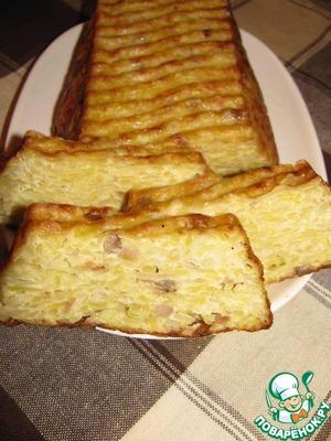 7. Готовый хлебец слегка остудить и нарезать ломтиками.