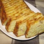 Картофельный хлебец с салом