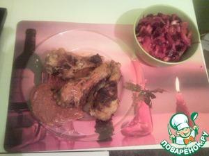 Рецепт Куриные ножки с острым соусом