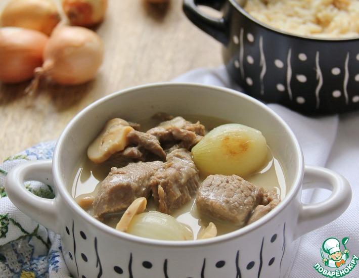 Рецепт: Бланкет из телятины
