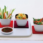 Картофельный салат Sukiyaki