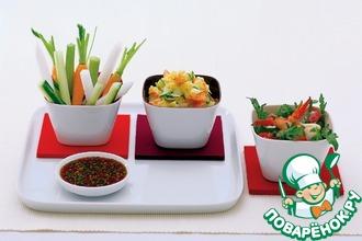 Рецепт: Картофельный салат Sukiyaki