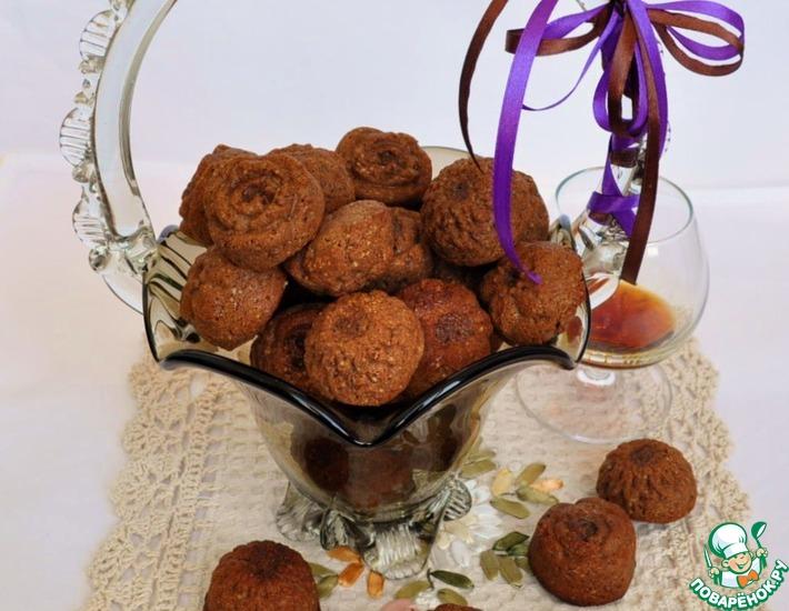 """Шоколадно-ромовое печенье """"Омская ночка"""""""