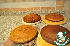 All cakes baked.