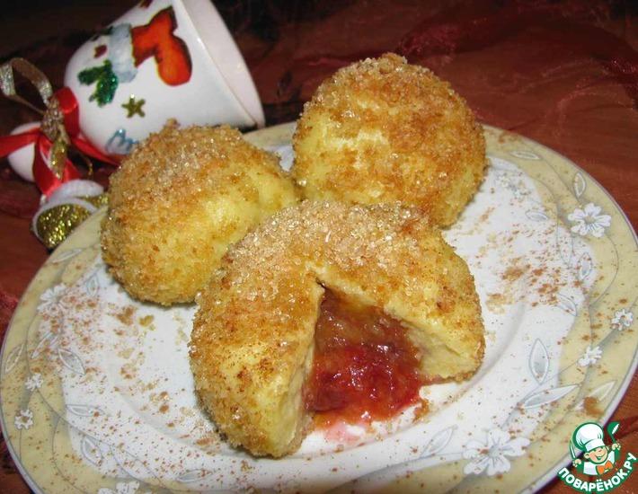 Рецепт: Чешские картофельные клецки со сливами