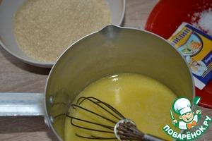 Melt the butter in a saucepan over medium heat.
