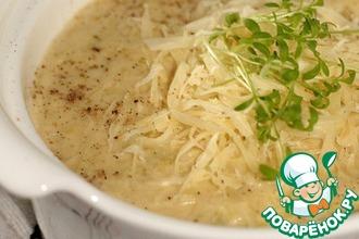 Рецепт: Суп-велюте из сельдерея