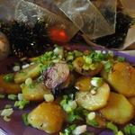 Картофель с соевым соусом Раз и готово