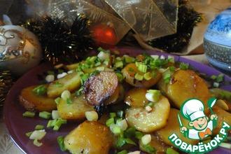 Рецепт: Картофель с соевым соусом Раз и готово