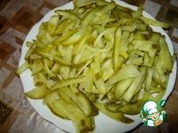 Салат из редьки с маринованным огурцом ингредиенты