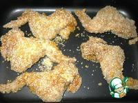 Хрустящие куриные крылья ингредиенты
