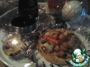 Поверьте - результат обрадует вас и ваших гостей. Для придания тайских мотивов вкусу маринада рекомендуется использовать сладкий соус KIKKOMAN. В дни Поста или для здорового питания - KIKKOMAN легкий с меньшим содержанием соли. С Новым годом!