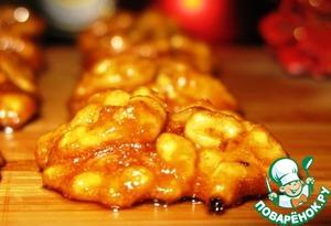 Рецепт: Грецкие орехи в глазури