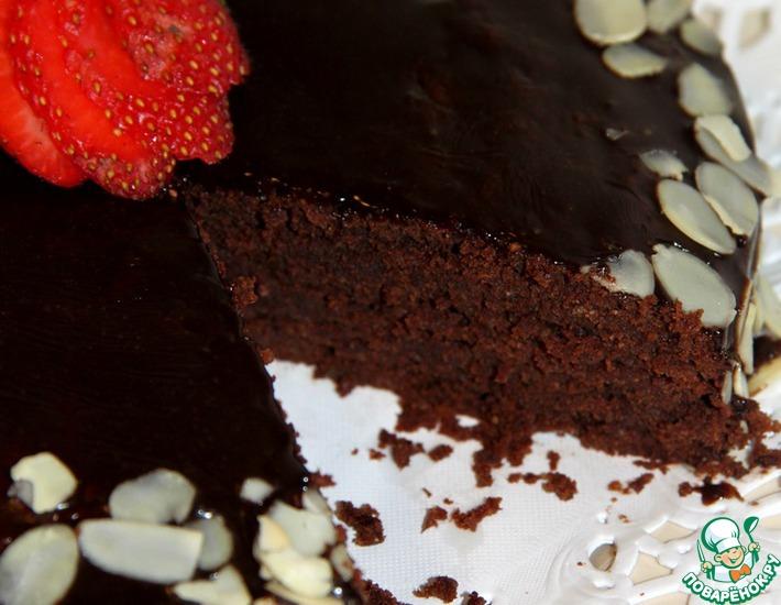 Рецепт: Шоколадно-миндальный торт от Джулии Чайлд